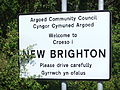 New Brighton, Flintshire sign - DSCF1149.JPG