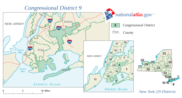 New York's congressional districts