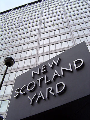 Brian Paddick, Baron Paddick - New Scotland Yard, London