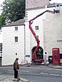 Newgate getting painted in Jedburgh.jpg