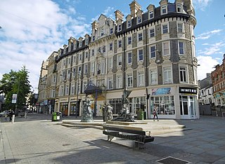 Westgate Hotel grade II listed hotel in the United kingdom