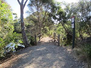 Newport, Victoria - Newport Lakes trail