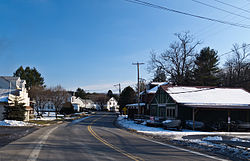 View of entrance of New Ringgold, Pennsylvania