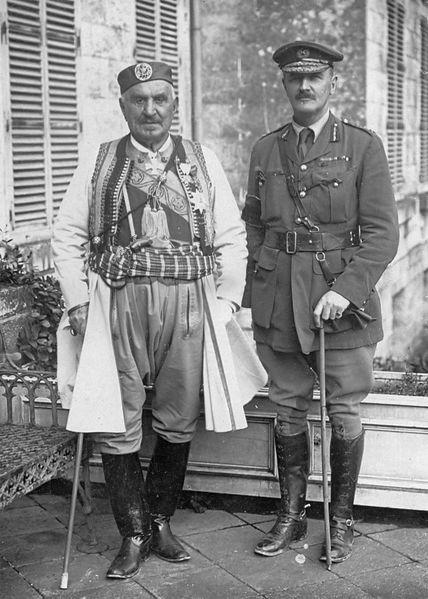 File:Nicholas I of Montenegro and Edmund Allenby (1914-1918).jpg
