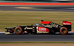 Nico Prost - Prost testing for Lotus in 2013.