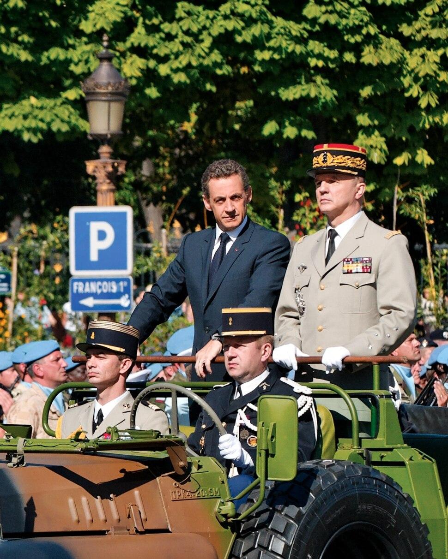 Nicolas Sarkozy Bastille Day 2008 n2