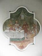 Niederau,_Kath._Pfarrkirche_hl._Sixtus,_Bild_an_rechter_Außenseite.JPG