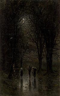 Night Travellers at a Cross - Ladislav Mednyánszky.jpg