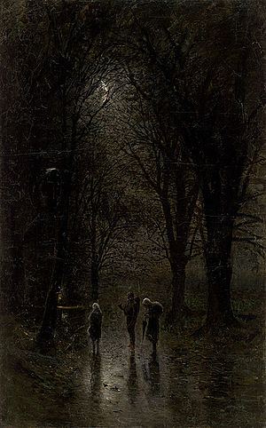Night Travellers at a Cross - Ladislav Mednyánszky.jpg