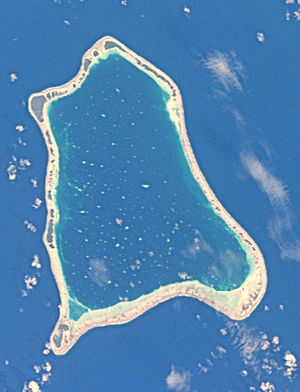 Nihiru - NASA picture of Nihiru Atoll