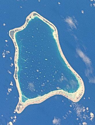 Nihiru - NASA picture of Nihiru Atoll