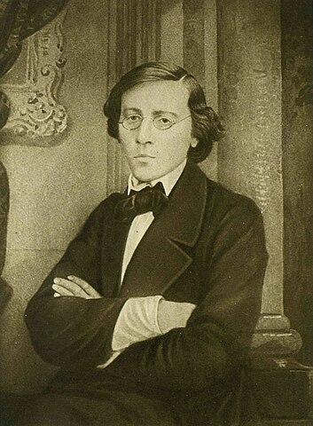 Н.Г.Чернышевский. Фотография В.Я.Лауфферта. 1859 год