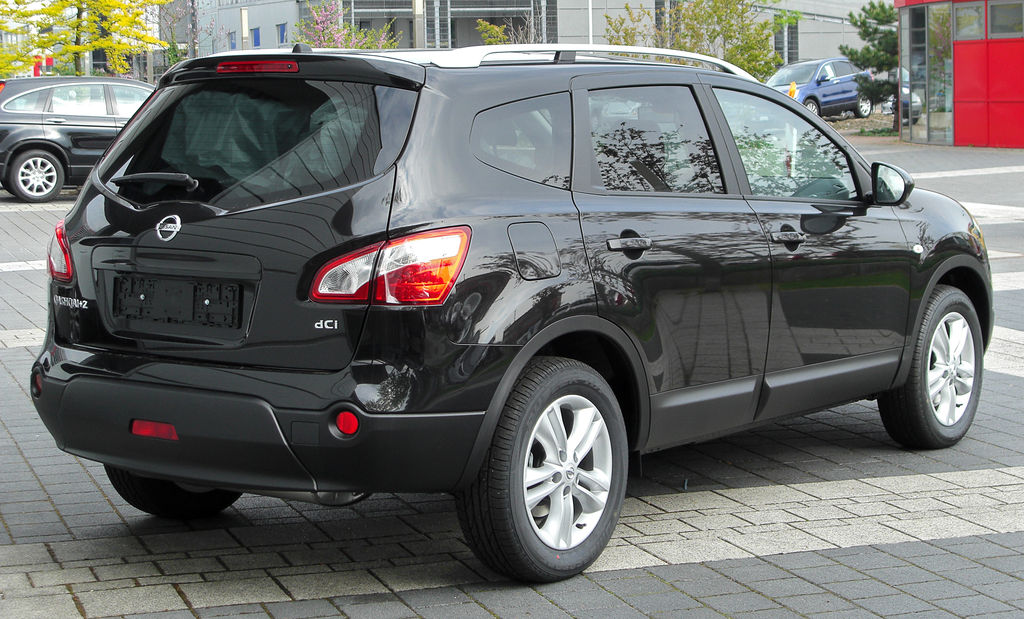file nissan qashqai 2 dci facelift rear wikimedia commons. Black Bedroom Furniture Sets. Home Design Ideas