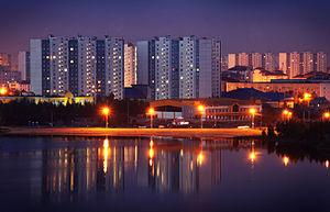 Nizhnevartovsk - Image: Nizhnevartovsk, lake Komsomolskoye
