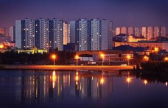 Khanty-Mansi Autonomous Okrug - Image: Nizhnevartovsk, lake Komsomolskoye