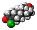 Norclostebol molecule spacefill.png