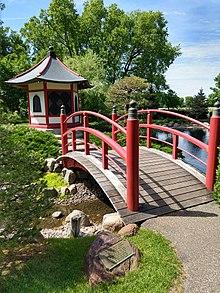 Normandale Community College Japanese garden