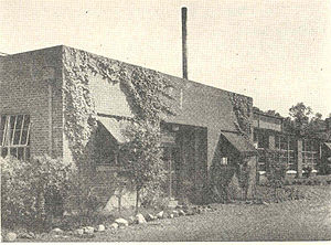 Norris, Tennessee - Hydraulics laboratory building in the 1930s