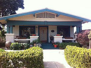 Dryden Historic District (San Diego) - Image: North Park Dryden Historic District House 1