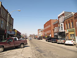 North Main Street in North Baltimore, Ohio
