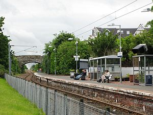 North Berwick railway station - North Berwick station