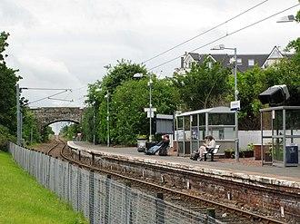 North Berwick railway station - North Berwick station
