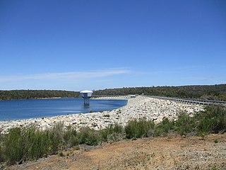 North Dandalup Dam dam in Australia