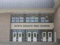 North DeSoto High School in Stonewall