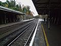 North Dulwich stn look north.JPG