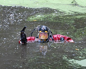 North West Police Underwater Search and Marine Unit - Image: North West Police Underwater Search & Marine Unit firearm find