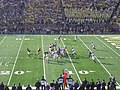 Northwestern vs. Michigan football 2012 10 (Michigan on offense).jpg
