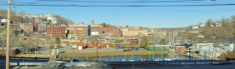 Panorama of Norwich, Connecticut