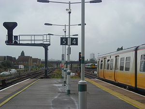 Norwood Junction railway station - Image: Norwoodjunction 2