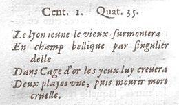 Nostradamus — Wikipédia