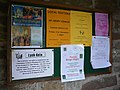 Notices in the Lych gate - geograph.org.uk - 1054807.jpg