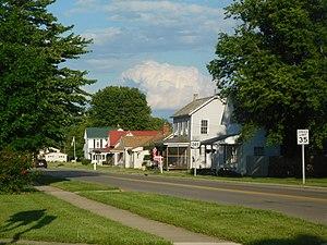 Ohio State Route 245 - SR 245 in North Lewisburg