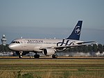 OK-OER Skyteam Czech Airlines (CSA) Airbus A319-112 cn3892 takeoff from Schiphol (AMS - EHAM), The Netherlands pic1.JPG