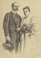 O Senhor Dom Miguel de Bragança e a Senhora Dona Maria Thereza Loewenstein de Bragança - O Occidente (11Dez1893).png