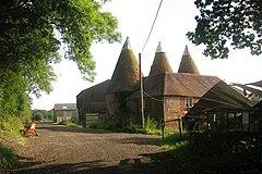 Oast House near Parsonage Farm, Salehurst (by Oast House Archive)
