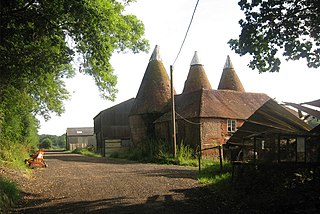 Salehurst village in United Kingdom
