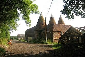 Salehurst - Image: Oast House near Parsonage Farm, Salehurst (by Oast House Archive)