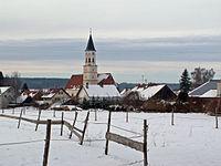 Oberrieden, MN - Kalvarienbergweg - Kirche v O.JPG