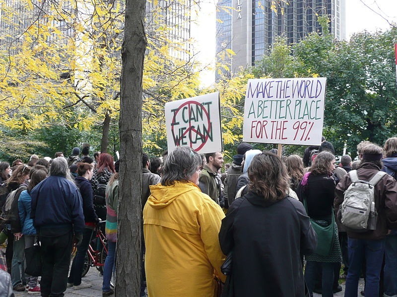 File:Occupy Montreal - Global Day of Action - 2011-10-15 - Victoria Square - I can't, We can.jpg