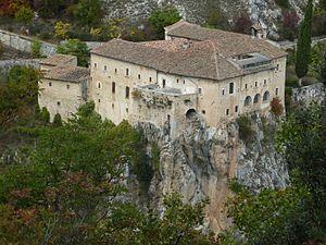 Ocre - Image: Ocre (AQ) Convento di Sant'Angelo 03