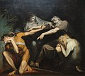 Oedipus Cursing His Son, Polynices, by Henry Fuseli, 1786, oil on canvas - National Gallery of Art, Washington - DSC00044.JPG