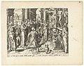 Offer op het altaar van Apollo De Trojaanse oorlog (serietitel), RP-P-2007-159.jpg
