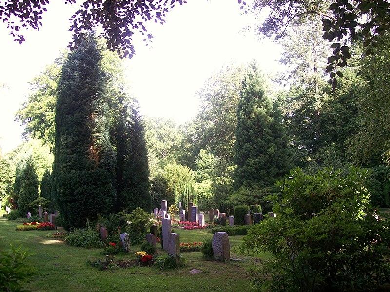 File:Ohlsdorf Friedhof Gräber - panoramio.jpg