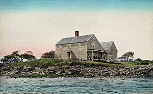 Biddeford Pool - Tristram Goldthwaite House c. 1910
