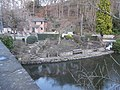 Old Mill Garden from Bridge End bridge - geograph.org.uk - 1722074.jpg
