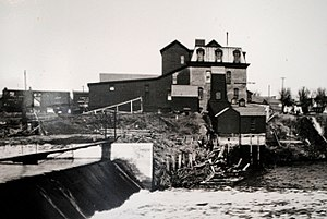Neligh Mill - Image: Old Neligh Mill